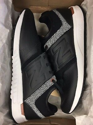NEW BALANCE WOMENS WRL247GY Black Leather Copper Wmns 247 Wmns 6 ...