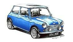 MANUALE OFFICINA AUSTIN MINI my 1969 - 2001 WORKSHOP MANUAL mail