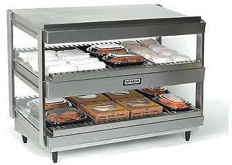 "NEMCO SLANTED, DUAL SHELF, 24"", STAINLESS Model 6480-24S"