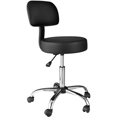 Comfort Products Medical Stool With Back Cushion
