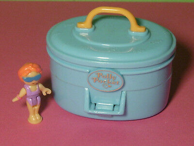 Polly Pocket Mini ♥ Summer Villa Köfferchen ♥ mit Orginal Polly ♥1996 ♥ selten