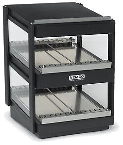 "NEMCO HORIZONTAL, DUAL SHELF, 30"", BLACK Model 6480-30-B"