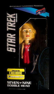 Star Trek Voyager - Seven of Nine - BOBBLE HEAD / Wackelkopf - Limited