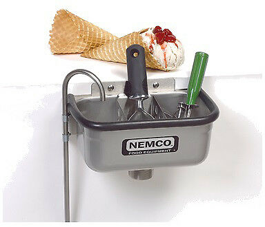 Nemco Ice Cream Dipper Station Spadewell (Excluding Divider) - 10""