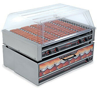 Nemco 8075-220 Roll-A-Grill Hot Dog Grill