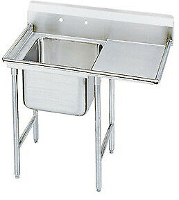 """Advance Tabco 40"""" Regaline One Compartment Sink Model T9-1-24-18R"""