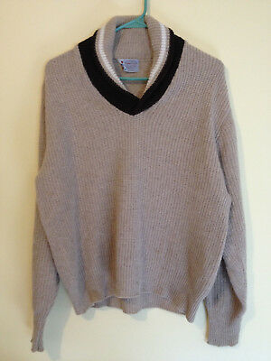 Vintage JC Penney's Towncraft Wool Sweater - Large