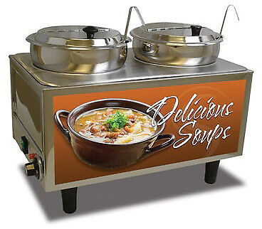 Benchmark USA Soup Station Warmer Model Number 51027S