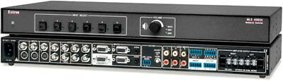 Extron - MLS 406SA - SIX INPUT SWITCHER WITH STEREO AUDIO AMPLIFIER