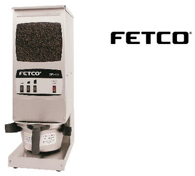 Fetco Single Hopper Coffee Grinder Gr-1.3