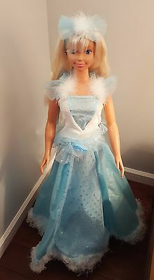 Barbie Life Size 1992 40'' Large Rotating Stand Mattel Dance with Me Vintage