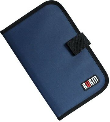BUBM Portable Thin CD And DVDs Holders 32 Disc CD Wallet Storage Organizer Bag