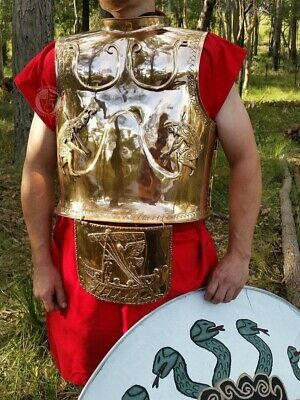 Odysseus Bronze armour historical reenactment