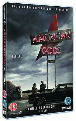 American Gods DVD Complete Season 1 One *** Fast & Free - Royal Mail Postage **