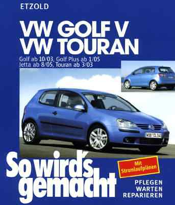 MANUALE OFFICINA GOLF V /GOLF PLUS /JETTA TOURAN WORKSHOP MANUAL mail