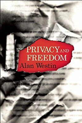 Privacy and Freedom-Alan F. Westin