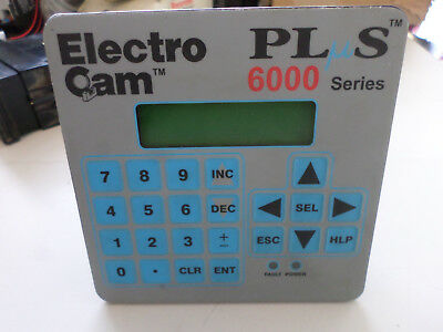 ELECTRO CAM - PLUS CONTROLS - KEYPAD DISPLAY 20....30DC Supply PS-6400-24-001