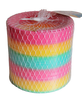Tobar Giant Rainbow Springy 15cm Kids Retro Toy Gift Fun Coloured Classic Slinky