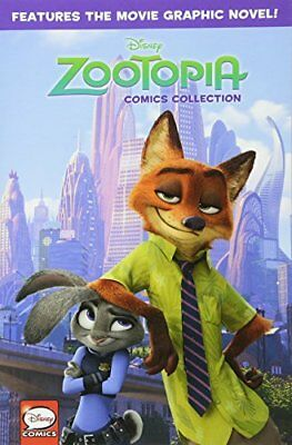 Disney Zootopia Graphic Novel-Disney