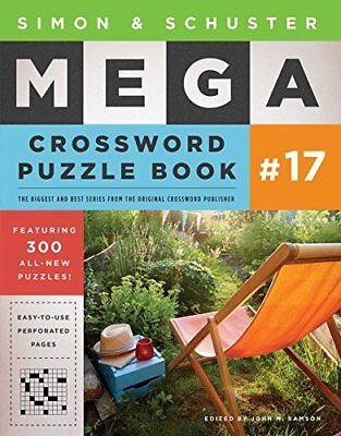Simon and Schuster Mega Crossword Puzzle Book #17-John M. Samson