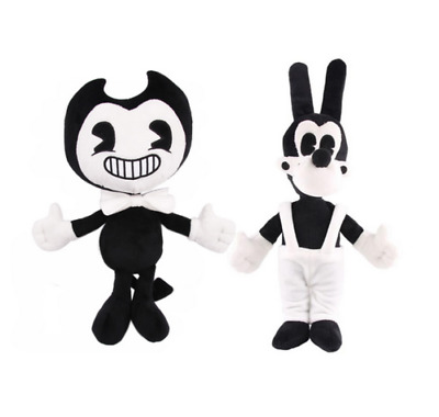 "Bendy And Boris the ink machine Plush Doll Figure KIDS Toys 13"" UK-SELLER C063"