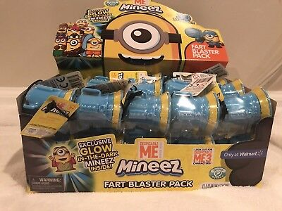 MINEEZ Fart Blaster MINIONS HOLE IN ONE MINION Glow In The Dark