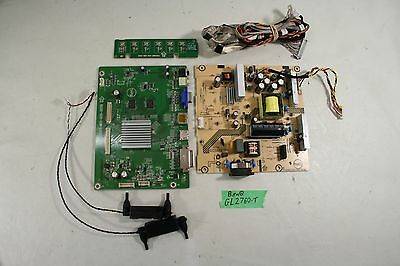 BenQ GL2760 Main Board Power Driver Internal Cabling and Components AS-IS