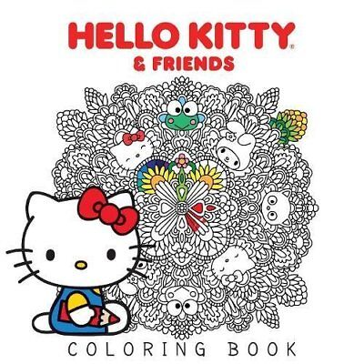Hello Kitty: Hello Kitty and Friends Coloring Book 1