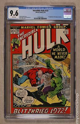 Incredible Hulk (1962-1999 1st Series) #155 CGC 9.6 1479125031