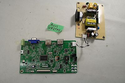 Asus VP279Q Main Board Power Driver Internal Cabling and Components AS-IS