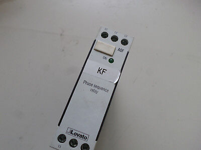 Lovato 3 Phase Sequence Control Relay - 230...440Ac -- Asf500