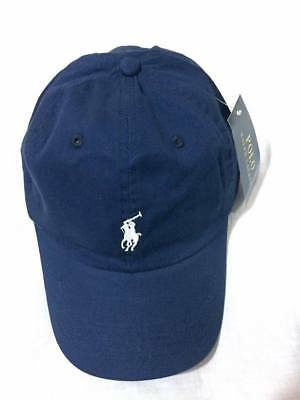 Polo Adults One Size Ralph Lauren Cap ,blue With( white) Pony RRP £40 .70% off