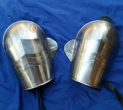 "HMB Shoulders - ""Sforza triptych"" medieval combat & armour reenactment"