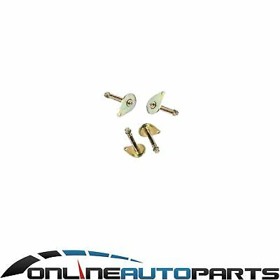 Set 4 Greasable Pins Leaf Springs Landcruiser 40 60 Series Toyota Front + Rear