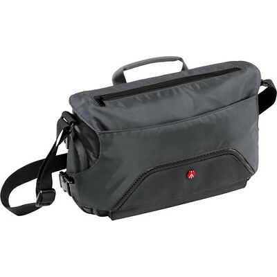 New Manfrotto Small Advanced Pixi Messenger Bag Gray Holds Small Dslr Lenses
