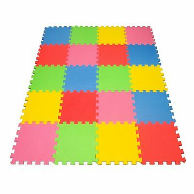 Angels 20 XLarge Foam Mats Toy ideal Gift, Colorful Tiles Multi Use, Create