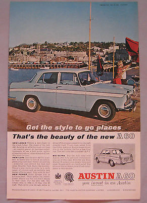 1962 Austin A60 Original advert