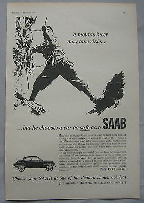 1963 SAAB Original advert No.3
