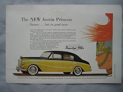 1956 Austin Princess Original advert