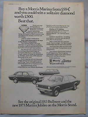 1973 Morris Marina Original advert No.1