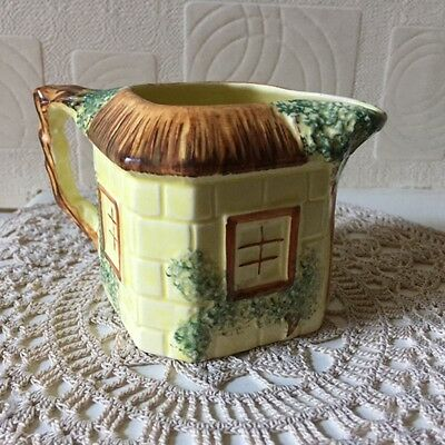 Keele Street Pottery Hand Painted Creamer 1940s Staffordshire English Pottery
