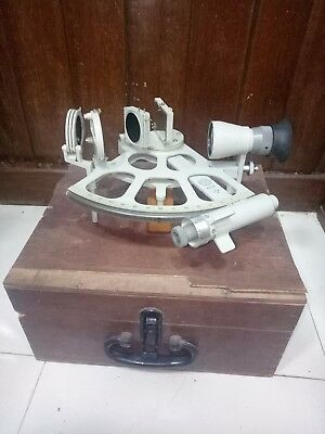 Vintage Marine Ddr Sextant West Germany