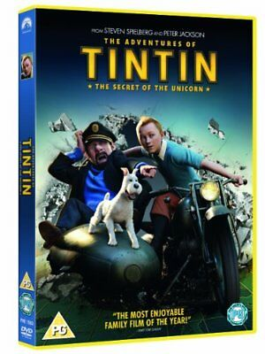 The Adventures of Tintin: The Secret Of The Unicorn [DVD], DVD | 5014437156334 |