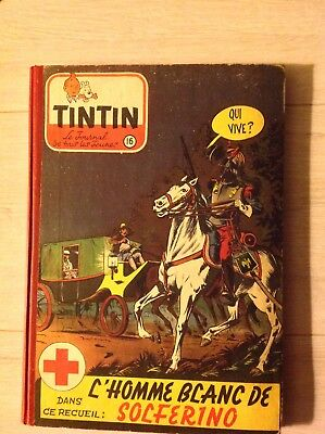 Reliure tintin 16 ancienne be francaise