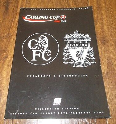 Chelsea vs Liverpool Carling Cup Final 2005
