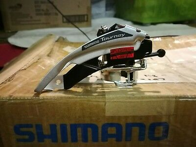 Shimano Tourney FD-TX50 Clamp-On Front Derailleur 31.8mm / 34.9mm 6/7/8 sp
