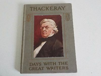 Vintage Book Thackery Days with the Great Writers Maurice Clare