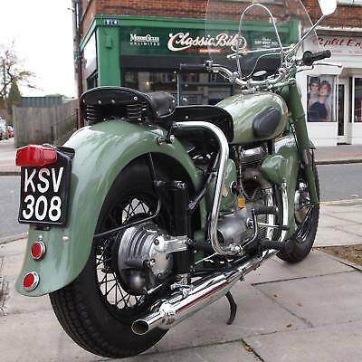 1953 Sunbeam S7 Deluxe Classic Vintage Rare Fat Tyre Example, Rides Perfect.