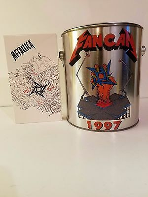 Metallica Fan Can #2 1997 Includes Can with Lid, CD, VHS Tape