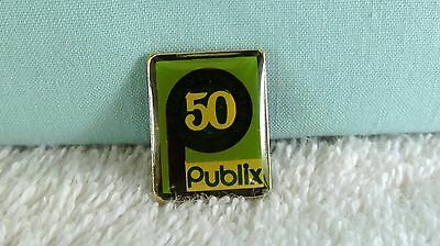 Publix Supermarkets 50Th Anniversary Pin 1930-1980